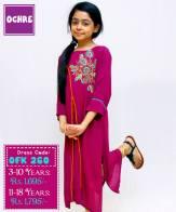 Summer Eid Kids Wear Dresses By Ochre 2015 5