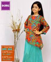 Summer Eid Kids Wear Dresses By Ochre 2015 9