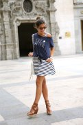 Trend Of Wearing Wedge Sandals Footwear With Summer Outfits 2015 3
