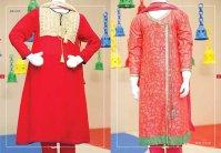 Angrakha Style Eid Kids Wear Dresses By Junaid Jamshed 2015 11