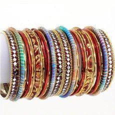 Beautiful Eid Bangles Bracelet Jewellery Designs For Girls 2015 4