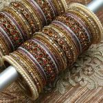 Beautiful Eid Bangles Bracelet Jewellery Designs For Girls 2015 9