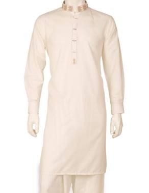 Eid Kurta Plain Designs For Men By Cambridge 2015 7