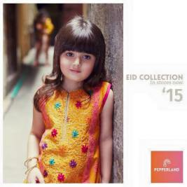 Eid Ul Fitr Kids Wear Traditional Dresses By Pepperland 2015 8