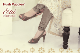 Women Eid Sandals Traditional Wear By Hush Puppies 2015 5