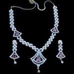 Elegant Diamond Jewellery Set Designs For 2015-16 Parites 11