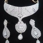 Elegant Diamond Jewellery Set Designs For 2015-16 Parites 8