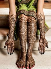 Indian Bridal Mehendi Designs For The Brides Of 2015-16 2