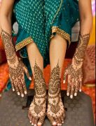 Indian Bridal Mehendi Designs For The Brides Of 2015-16 8