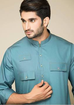 Mid Summer Kurta Designs For Men By Amir Adnan 2015 2