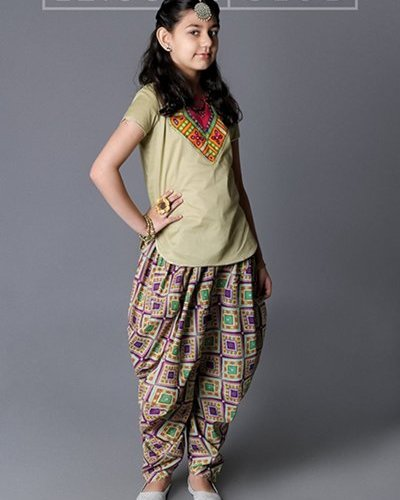 Midsummer Patiala Salwar For Kids By Leisure Club 2015-16