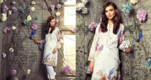 Digital Pret Kurtis Eid Wear Ideas Collection By Gul Ahmed 2015-16