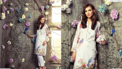 Digital Pret Kurtis Eid Wear Ideas Collection By Gul Ahmed 2015-16