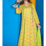 yellow kurti on eid
