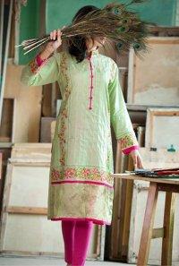 Eid Embroidered Kameez Designs By Fabrizio 2015-16 8