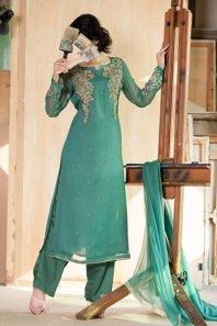 Eid Embroidered Kameez Designs By Fabrizio 2015-16 9