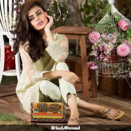 Eid Handbags With Dress By Gul Ahmed 2015-16 7