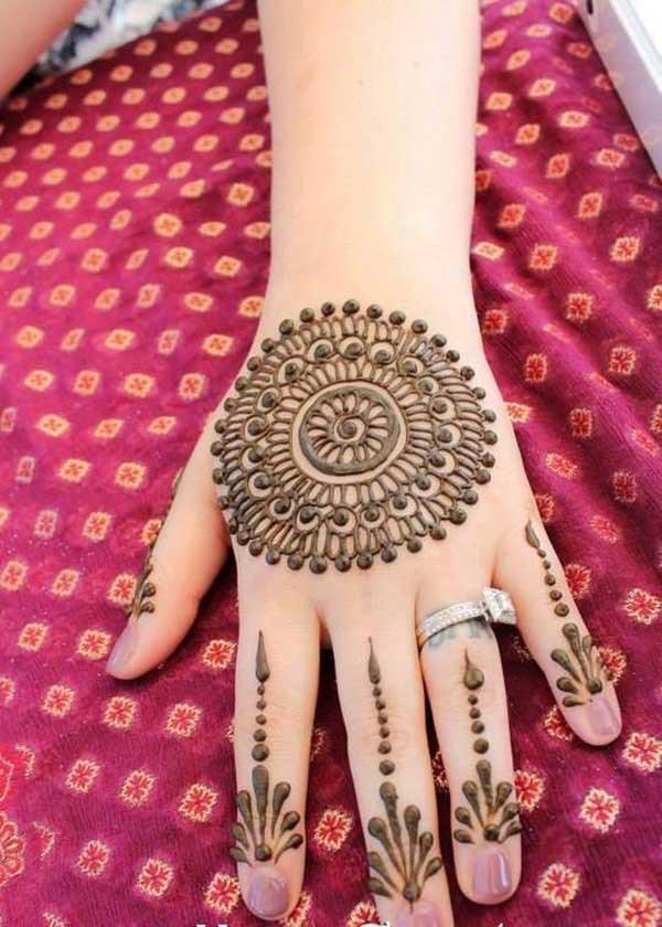 Eid Ul Azha Chand Raat Mehndi Special Designs 2015-16