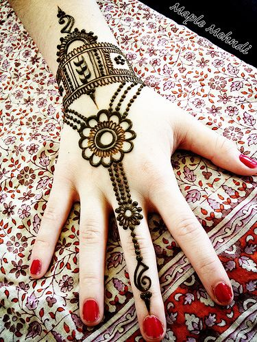 Eid Ul Azha Hand Mehndi Designs For Young Girsl 2015-16