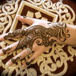 Eid Ul Azha Hand Mehndi Designs For Young Girsl 2015-16
