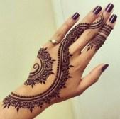 hand henna design