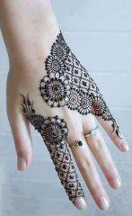Eid Ul Azha Hand Mehndi Designs For Young Girsl 2015-16 7