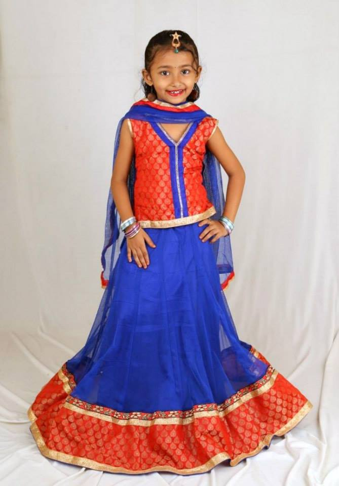 lehnga dress for children
