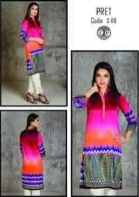 Eid Ul Azha Pret Silk Kurtis By Zoe 2015-16 2