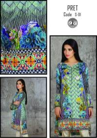 Eid Ul Azha Pret Silk Kurtis By Zoe 2015-16 3