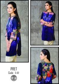 Eid Ul Azha Pret Silk Kurtis By Zoe 2015-16 4