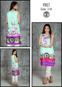 Eid Ul Azha Pret Silk Kurtis By Zoe 2015-16 5