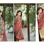 Embroidered Kameez Eid Wear By Lala 2015-16 5