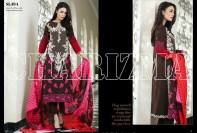 Embroidered Linen Eid Wear Dresses By Charizma 2015-16