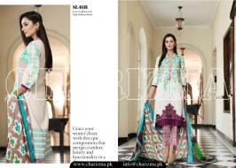 Embroidered Linen Eid Wear Dresses By Charizma 2015-16 4
