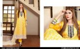 Embroidered Swiss Cotton Dresses By Rujhan 2015-16