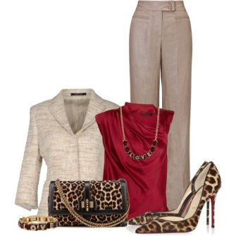Fall Formal Outfits Polyvore Combos For Business Women 2015-16 9