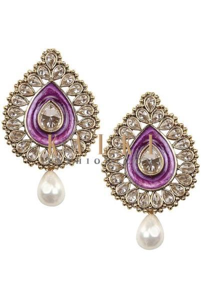 Indian Earrings Jewelry By Kalki Fashion 2015-16 6