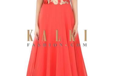 Long Maxi Eid Dresses By Kalki Fashion India 2015-16
