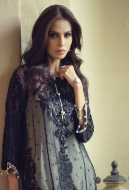 Mbroidered Eid Wear Bridal Dresses By Maria B 2015-16 5