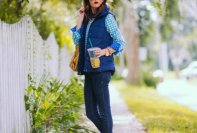 Stylish Women's Vests For Fall Season 2015-16