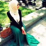 Winter Maxi Dresses With Hijab Fashion Trend 2015-16 10