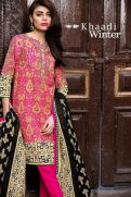 3 Piece Embroidered Printed Collection By Khaadi 2015