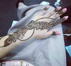 Beautiful Hand Mehndi Designs For Every Event 2