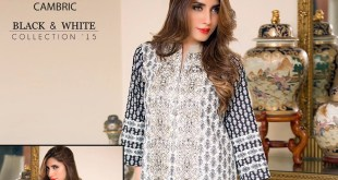 Bonanza Cambric Dresses For Winter 2015-16