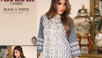Bonanza Cambric Dresses For Winter 2015-16