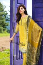 Embroidered Cotton Polyester Shalwar Kameez By Khaadi 2015 18