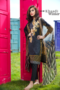 Embroidered Cotton Polyester Shalwar Kameez By Khaadi 2015 7