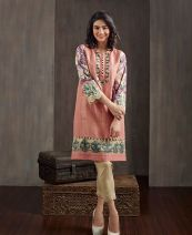 Floral Printed Kurtis For Winter By Happa Studios 2015-16 7