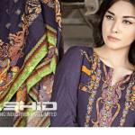 Gloria Linen Dresses For Women By Rashid Textiles 2015-16 12