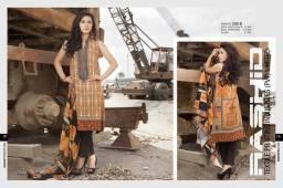 Gloria Linen Dresses For Women By Rashid Textiles 2015-16 5